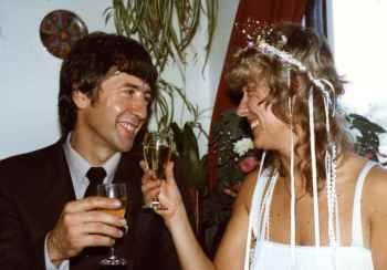 Our wedding 1983